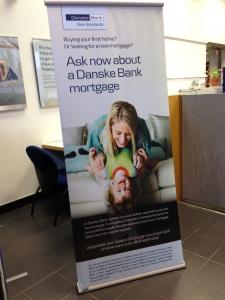 Danske Ex-T Banner Stand