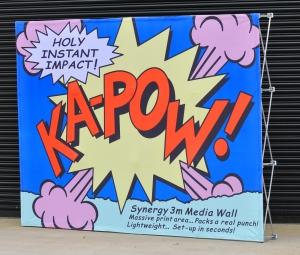 KA-POW Media Wall
