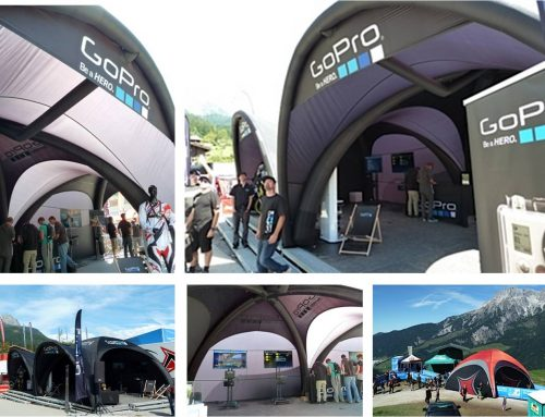 GoPro's HERO at the Mountain Bike World Championships