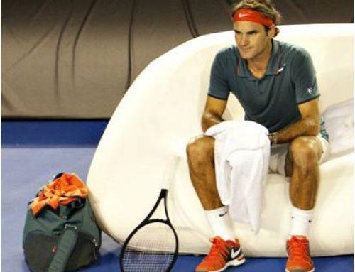 FUGU & Federer at the Australian Open!