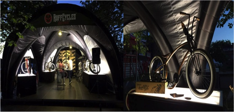 X-GLOO Creative Event Space: POP-UP Instant Showroom �